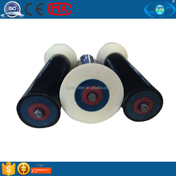 discounted price belt friendly wear resistant UHMWPE friction self aligning roller Plastic