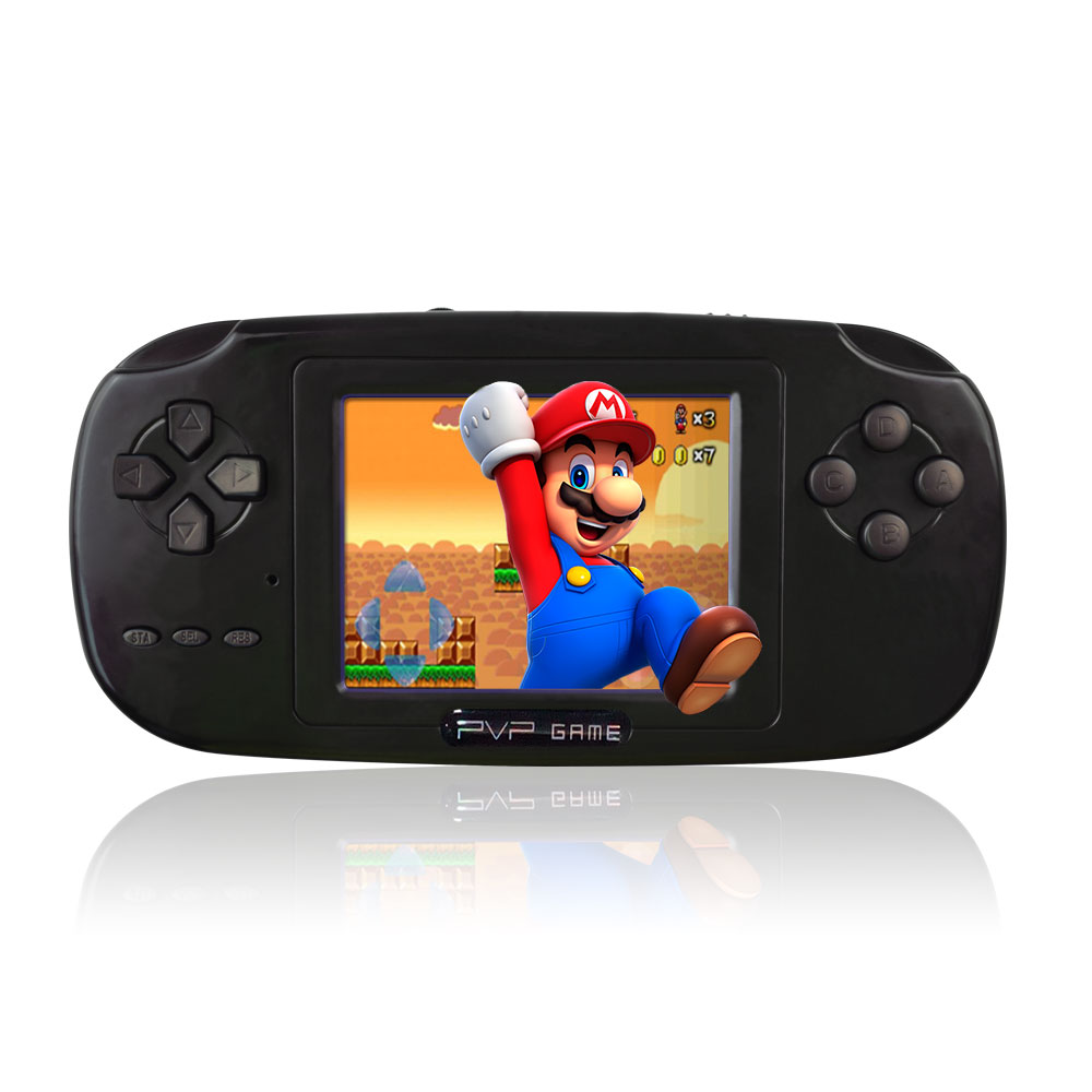 China factory 8 bit PVP handheld cheap game console for mp5 player