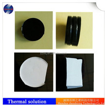 Two-component thermal conductive pouring silicone rubber sealant for electronict products