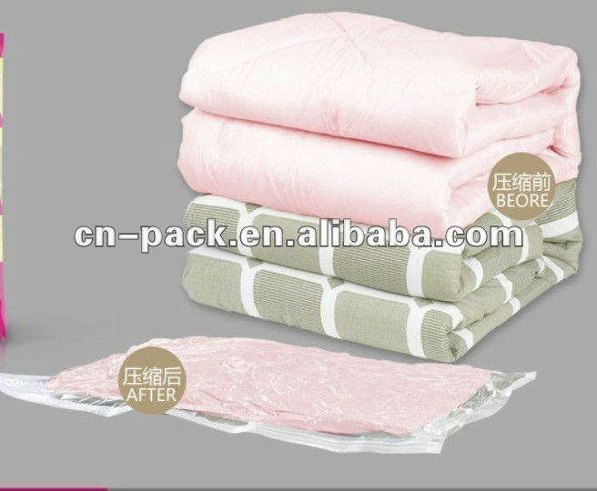 PA+PE Cube Sealed Vacuum Storage Bag for Winter Clothes,Factory Directly Supply