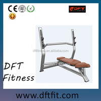 DFT-924 hot sale Olympic Flat Bench, body pump equipment for sale also equipment for fym use