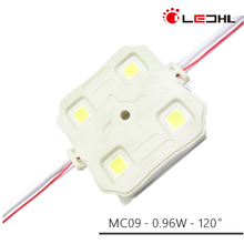 IP65 Waterproof SMD 5050 DC12V 0.96W 4LEDs Injection LED Modules for sign boards