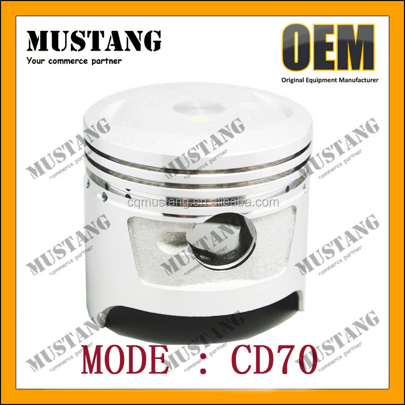 OEM Motorcycle Piston 4 Stroke Motorcycle Engine Cylinder Kit Bore 47mm for Honda made in China