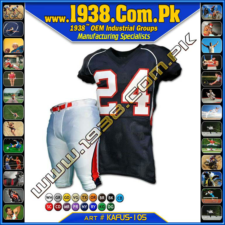 customs sublimated football sports and pats , american Football jersey with customize sublimation