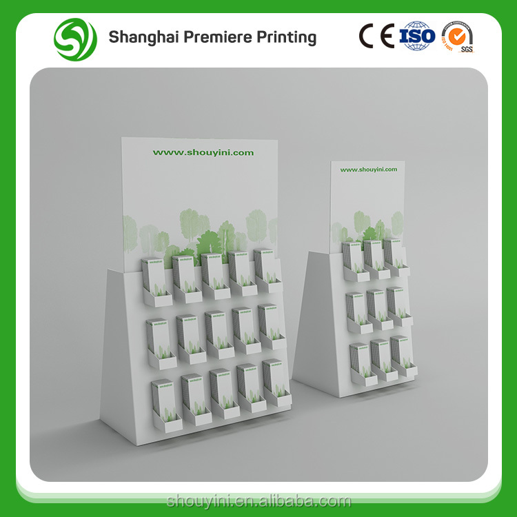 Alibaba Golden Book Cardboard display stand,Alibaba store pop paper display stand