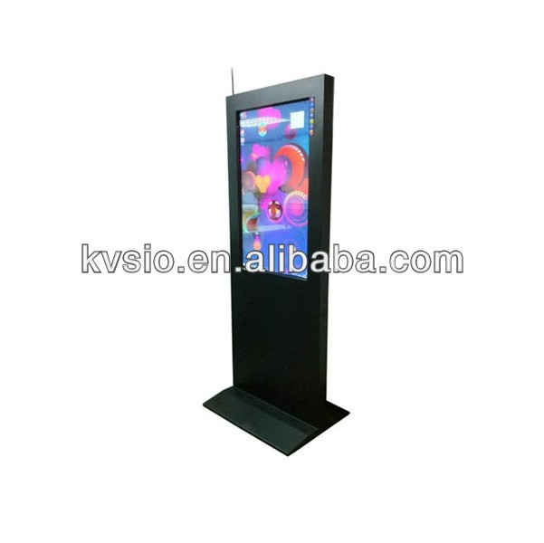 Slim and Smart Outdoor Multimedia Information Kiosk/ Touch Function Information Kiosk Terminal