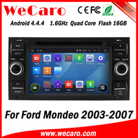 Wecaro WC-FU7016 Android 4.4.4 car dvd player 2 din for ford mondeo autoradio 2003 - 2007 bluetooth