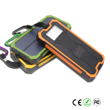 Hiking Essential Solar Power Bank 10000mah for sport fans