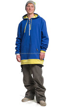 long ski tall hoodie in 100% warm cotton fleece with OEM logo and design