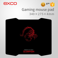 Large size computer keyboard custom printed rubber cancer gaming mouse pad