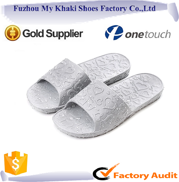 Wholesale cheap new design <strong>flat</strong> slippers for women's men's indoor slipper