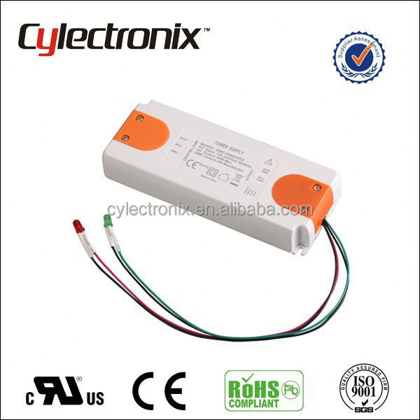 Waterproof constant voltage 500ma 20w led driver power