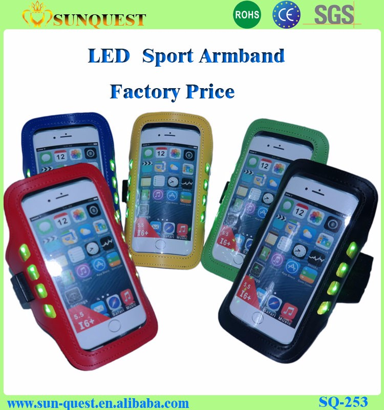 Latest arrival all kinds of sport armband mobile phone case for promotion