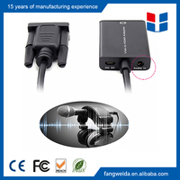 Chinese manufactuer vga audio to hdmi video converter adapter