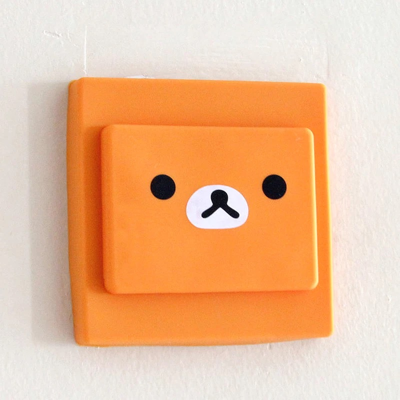 Rubber light switch cover