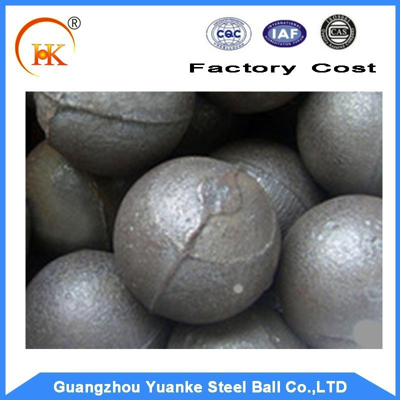 low price mineral separation used 40mm rolled and forged steel grinding ball