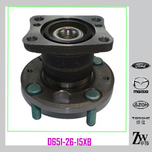 Car Spare Parts Rear Axle Wheel Hub Bearing for Mazda 2 DE ( Year 2007, Engine 1.3 / 1.5) D651-26-15XB