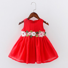 Cherry Sweet Talk Fashion Kid Baby <strong>Girl's</strong> Party Flower Design <strong>Dress</strong> Q728