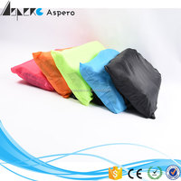 Amazon most popular outdoor inflatable air bed laybag air sofa 3 season lazy air sofa bag with factory price in stock