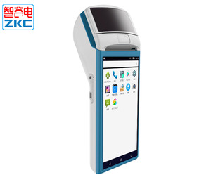 5.5 inch Small Android Handheld POS Terminal With Thermal Printer and Qrode Scanner ZKC5501