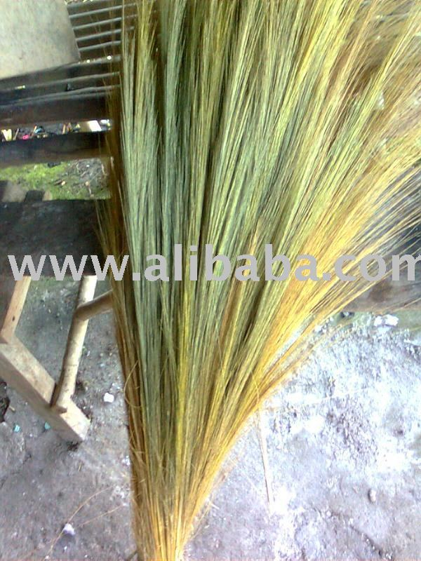 tiger grass broom raw materials