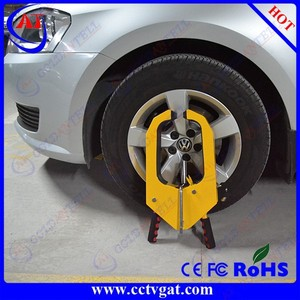 Parking enforcement car wheel clamp auto steering wheel lock