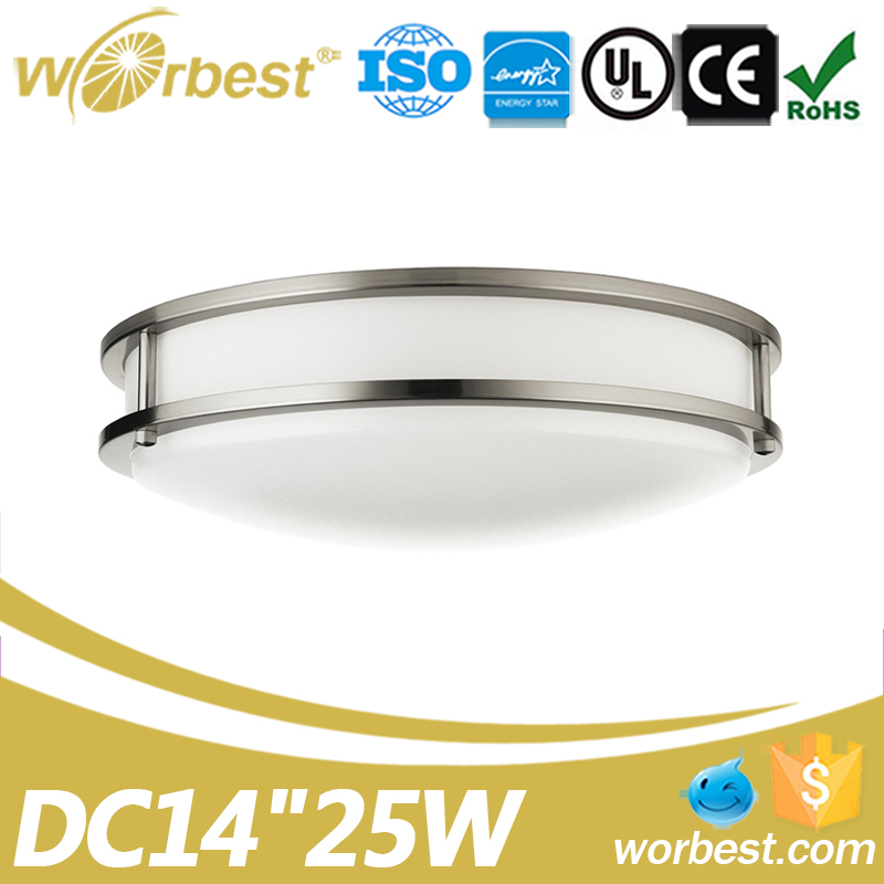 Worbest 14 Inch 25W Ceiling Led Light Fitting Round UL Energy Star Listed