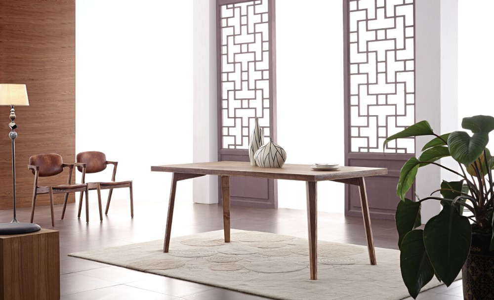 wood furniture manchurian ash dining table dining room sets ysy14b2