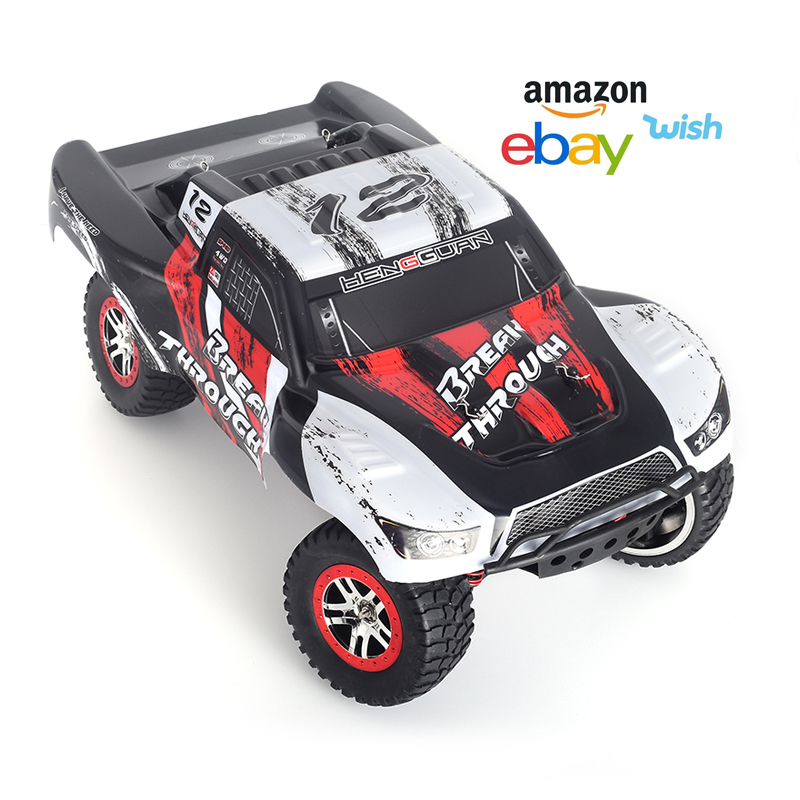 1:10 2.4G 4WD electric high speed off road rtr 4x4 <strong>model</strong> brushed rc caminhao de controle remoto