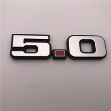 Custom 5.0 car grill badge Sport Emblem For Mustang coyote shelby GT500