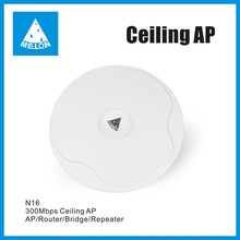 2.4GHz 300Mbps high power Wireless Ceiling AP,wifi receiver and transmitter