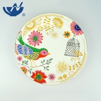 High Quality Custom Collectible Home Decor Decoration Porcelain Plates Decorative Ceramic Plate
