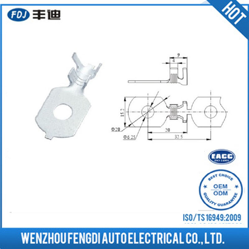 Reasonable Price Wholesale Auto Parts Eyelet Terminal Ring Terminal