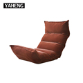 Janpanese style bedroom furniture lazy boy folding floor single sofa chair