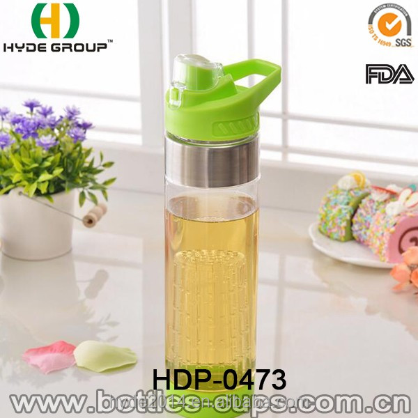 Top Seller Tritan Free Sample 700ML Fruit Infuser Water Bottle (HDP-0473)