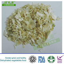 Milk white dried China natural onion sliced flake from Yongnian, China