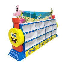 customized book and jurnal racks cardboard advertising display stand recycle OEM