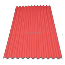 low cost color plastic long span color coated corrugated roofing sheet