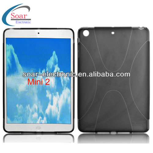 X line tpu gel case for ipad mini 2