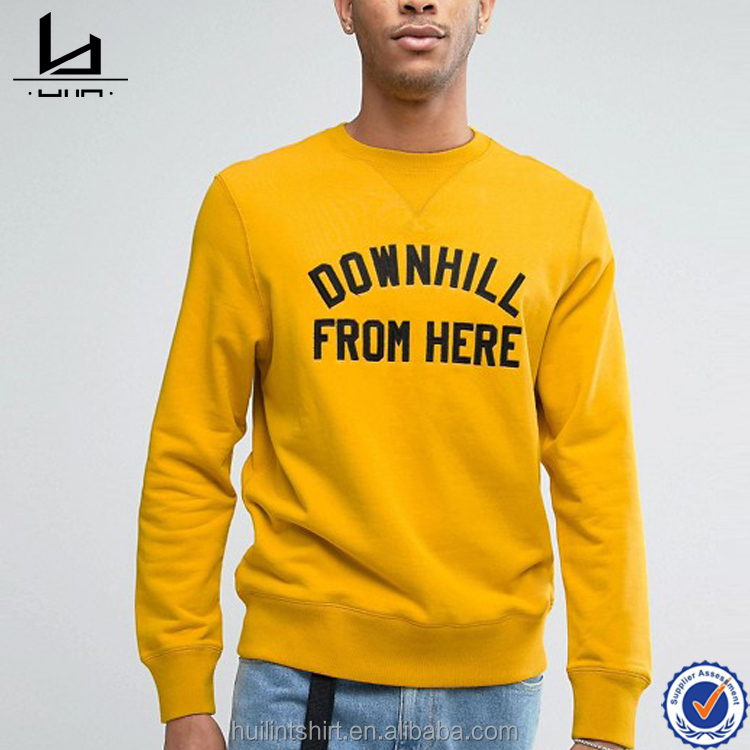 Bangladesh wholesale clothing printing printing sweatshirts mens hoodie without hood