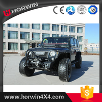 HORWIN high quality black steel 4x4 bull bar front bumper for TRUCK + Jeep Wrangler