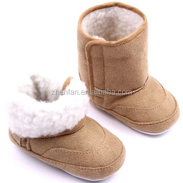 Fashion New Winter Toddler Infant Girls First Walkers Crib Shoes