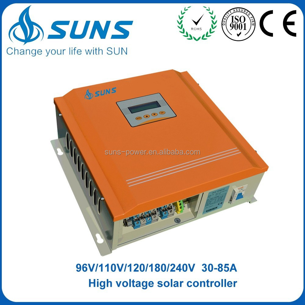 Trade assurance manufacturer 180V 60A double cooling fans <strong>charge</strong> <strong>controller</strong>