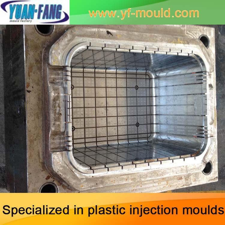 Plastic Basket Injection Mould manufacture