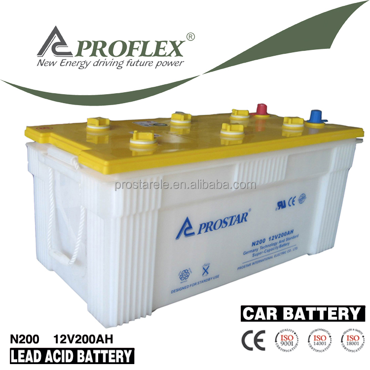 Maintenance Free Automotive Starter Dry Auto Car Battery