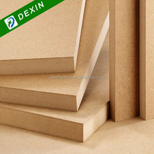 Raw, Melamine or Veneer Faced MDF Board Wood