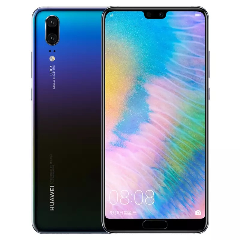 China New Products Dropshipping Aurora Huawei P20 Clt-al01 Smart <strong>Phones</strong> 6gb 64gb 128gb 256gb Huawei P20 4g Mobile <strong>Phones</strong>