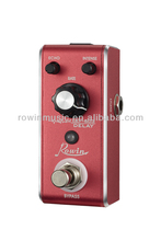 Excellent and durable sound guitar effect pedal for wooden,electric guitar in stock