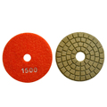 Abrasive Engineered stone diamond polishing pad buff