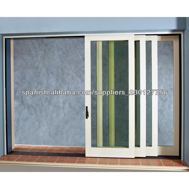 2014 nuevo dise o interior de aluminio puertas correderas for Correderas de aluminio